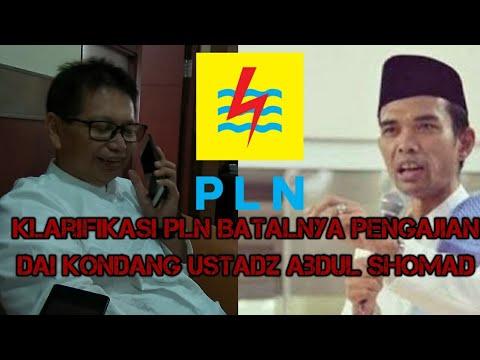 PLN Sebut ...... Sebagai Alasan Batalnya Pengajian UAS (Ustadz Abdul Shomad)