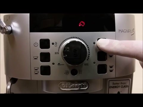 Delonghi ECAM 22.110 / ECAM 21.117 Test Mode