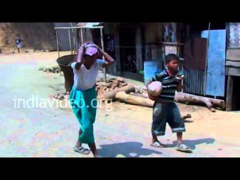 Kanhmun Village life, Mizoram