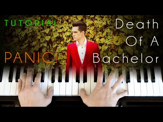 panic at the disco death of a bachelor piano tutorial chords chordify. Black Bedroom Furniture Sets. Home Design Ideas
