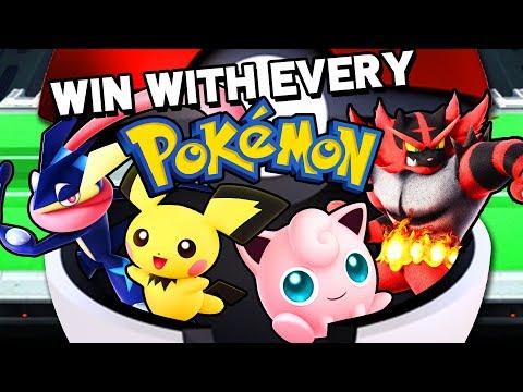 The Pokemon MASTER Challenge in Smash
