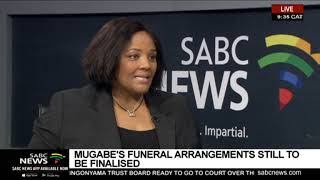 Mugabe's funeral arrangements still to be finalised
