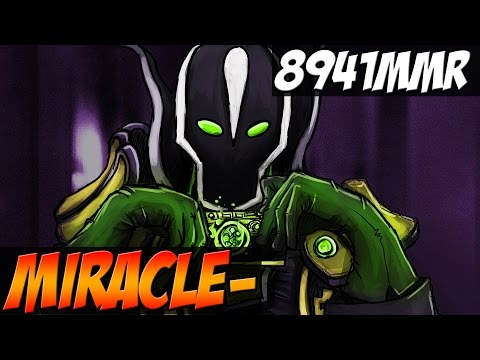 Miracle- Rubick 8941MMR - The best Rubick in the world ? - Dota 2