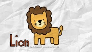 Draw for Kids, Lion