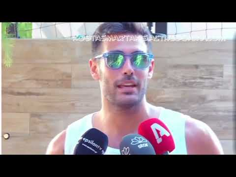 Kostas Martakis - Beach Volley Charity Tournament by WIN HELLAS (Backstage Interviews)