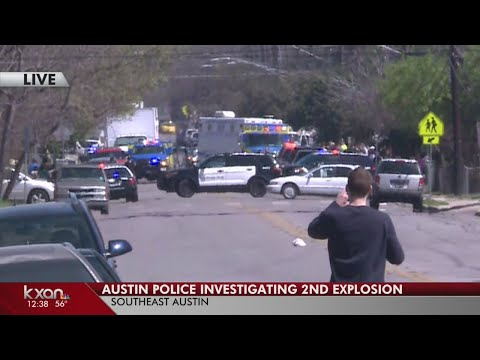 Second explosion reported in southeast Austin