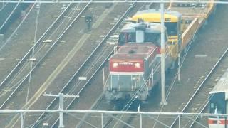 JR貨物 DE101727(国鉄DD51形ディーゼル機関車)愛知機関区 名古屋駅付近で撮影 2019.9.28