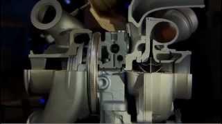 DualBoost turbo van honeywell, garrett