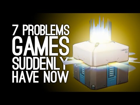7 Irritating Problems Video Games Suddenly Have Now