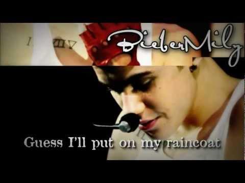 Justin Bieber-Yellow Raincoat [With Lyrics]