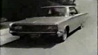 1965 Chrysler New Yorker TV Commercial
