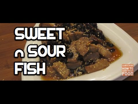 Sweet n Sour Fish Recipe - Asian cooking Chinese