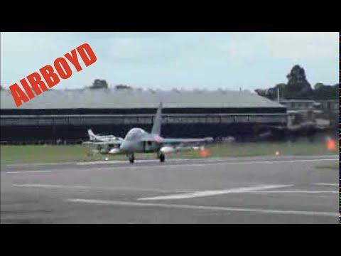 Yak-130 Farnborough 2012 (Monday)