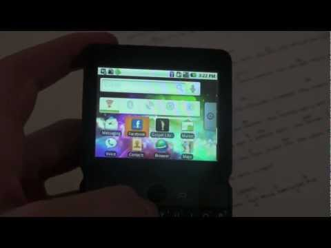 Huawei U8300 unbox and review