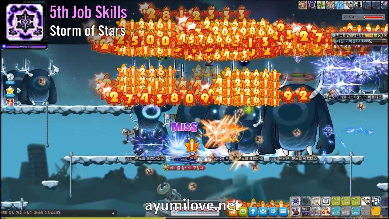 MapleStory Night Lord Skill Build Guide | AyumiLove