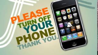 silence your cell phone sign