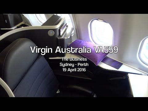 Virgin Australia 'The Business' VA559: Sydney To Perth, Australia