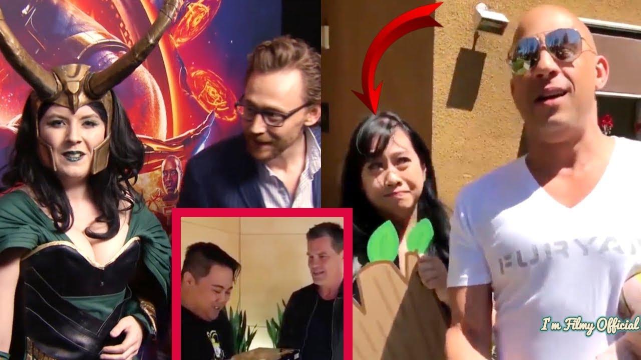 avengers: infinity war cast hilariously surprises fans(part-2) - try
