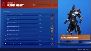 Fortnite Season X Ultima Knight Skin Review And Rewards, Tier 100 Skin