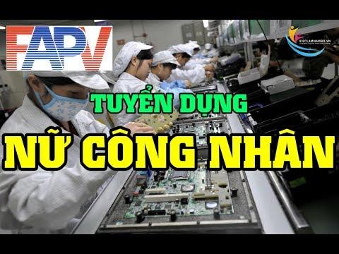 TUYỂN GẤP 300 NỮ CÔNG NHÂN| Công ty Furukawa Automotive Parts Việt Nam INC  (Khu chễ xuất Tân Thuận)