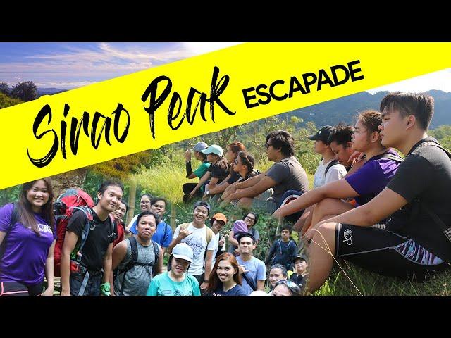 Sirao Peak Trekking (Mt. Kan-Irag)  - Cebu Philippines