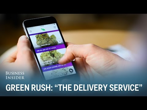 """Legal weed delivery in one hour or less"" (Green Rush Episode 7)"