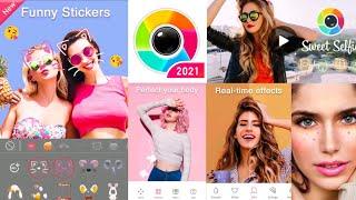 Sweet Selfie -Cartoon Photo Editor & Beauty Camera | Sweet Selfie Photo Editing Tutorial screenshot 1