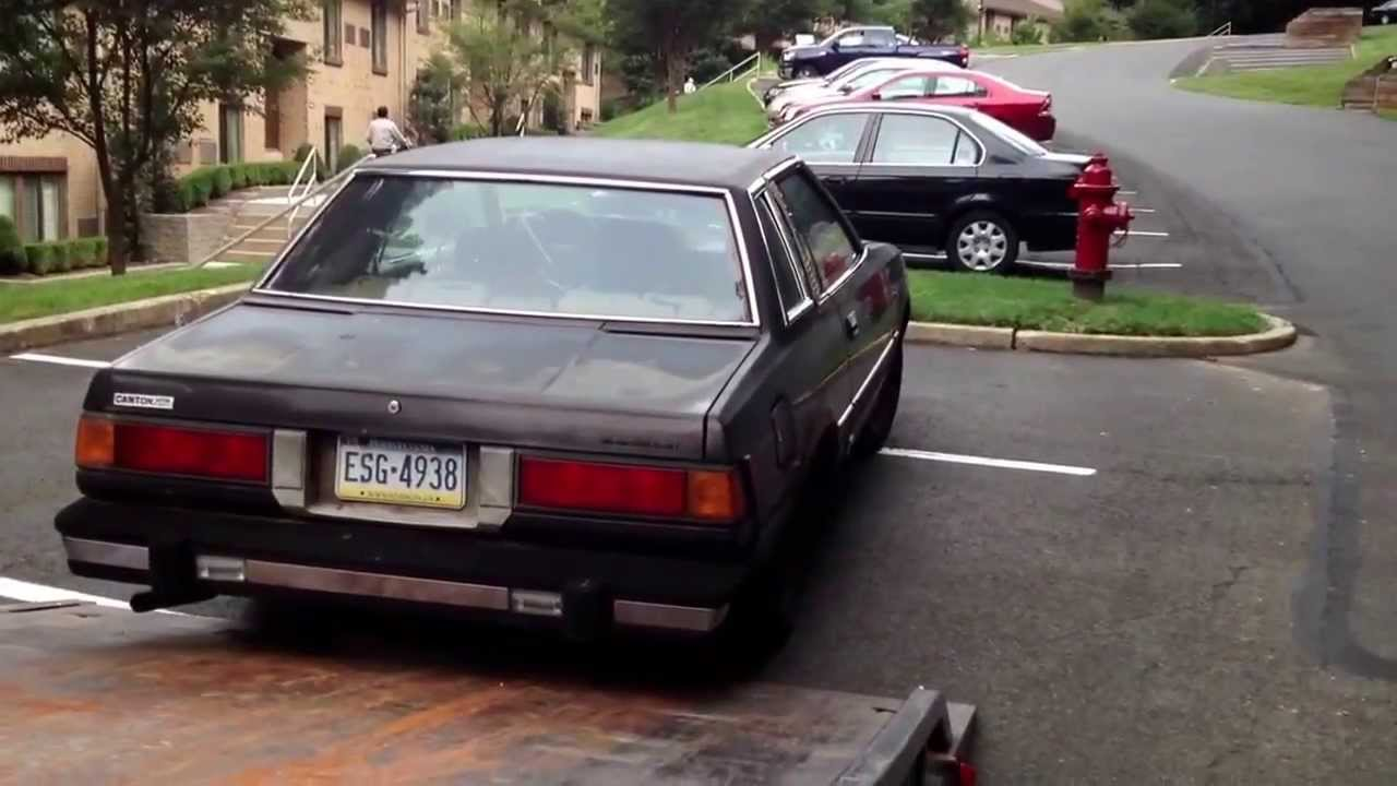 Picking up a junk car part 2 ( I had a focusing problem)during first ...
