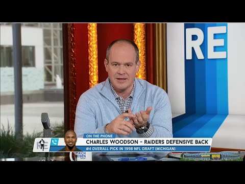 Raiders Safety Charles Woodson Calls The RES To Talk Jim Harbaugh - 12/30/14