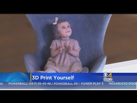 Cool Or Creepy? You Can Now 3D Print Yourself