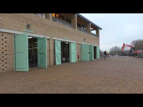 New Boathouse Opens In Ely For Cambridge University Elite Rowers
