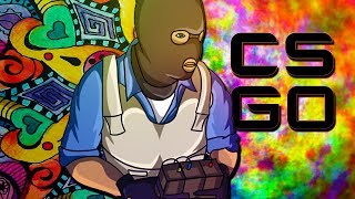"""""""GET A JOB YOU F#CK!NG HIPPIES!"""" - CS:GO Funny Moments with The Crew!"""