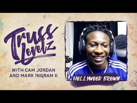 Hollywood Brown Talks with Cam Jordan and Mark Ingram II   Truss Levelz S1:E2   The Players' Tribune