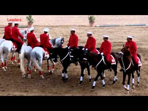 La cavalerie du régiment d'honneur de l'armée nationale