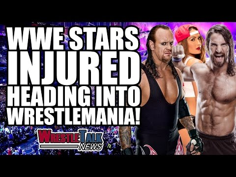 Shelton Benjamin Cleared to Return! WWE Stars Injured Heading Into Wrestlemania! | WrestleTalk News