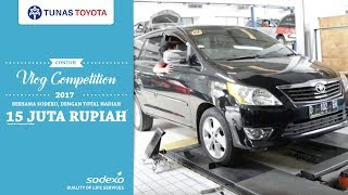 Servis Mobil Di Bengkel Tunas Toyota Dengan Voucher Sodexo