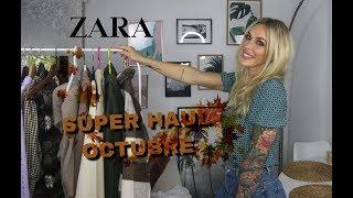 SUPER HAUL OCTUBRE: ZARA, PULL AND BEAR, STRADIVARIUS, BERSHKA