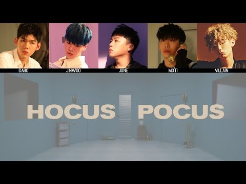 Planetarium Records (PLT) - Hocus Pocus MV + Lyrics Color Coded HanRomEng
