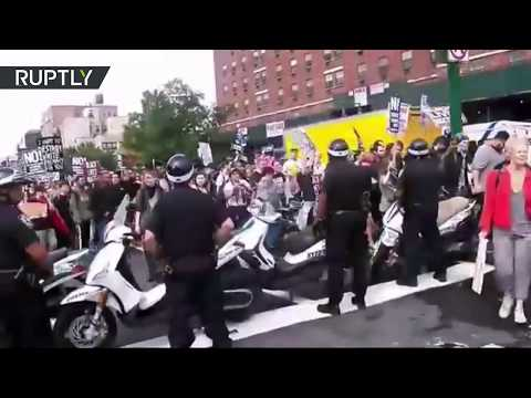 Hundreds rally in NYC demanding justice for Philando Castile