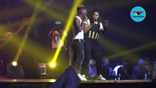 2019 Reign Concert: Becca performs 'Driving License' with Shatta Wale