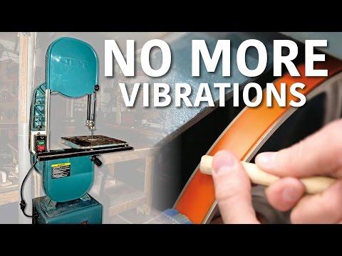 How To Reduce Bandsaw Vibration - *BONUS* Adjusting for Blade Drift