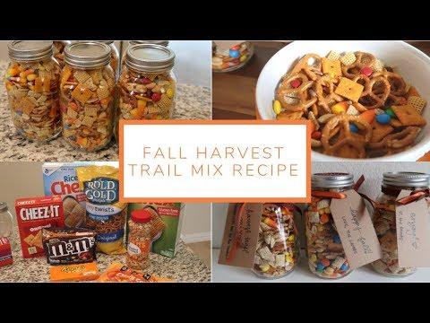 Fall Harvest Trail Mix Recipe (Easy Gift Idea!)