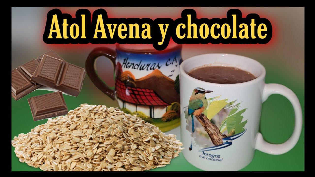 Atol de Avena y chocolate 🤤