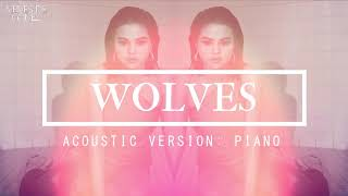 Selena Gomez - Wolves (acoustic piano version) [fanmade]
