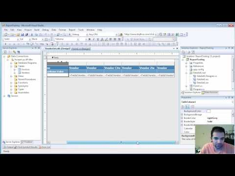 Creating Reports in C# - Part 1 of 2