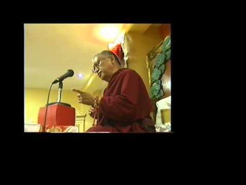 Lama Zopa Rimpoché en Nagarjuna Valencia 2 de 3