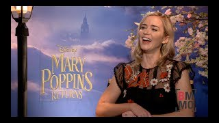 Emily Blunt Interview - Mary Poppins Returns
