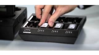 Shure ULX-D Digital Wireless System: Rechargeability