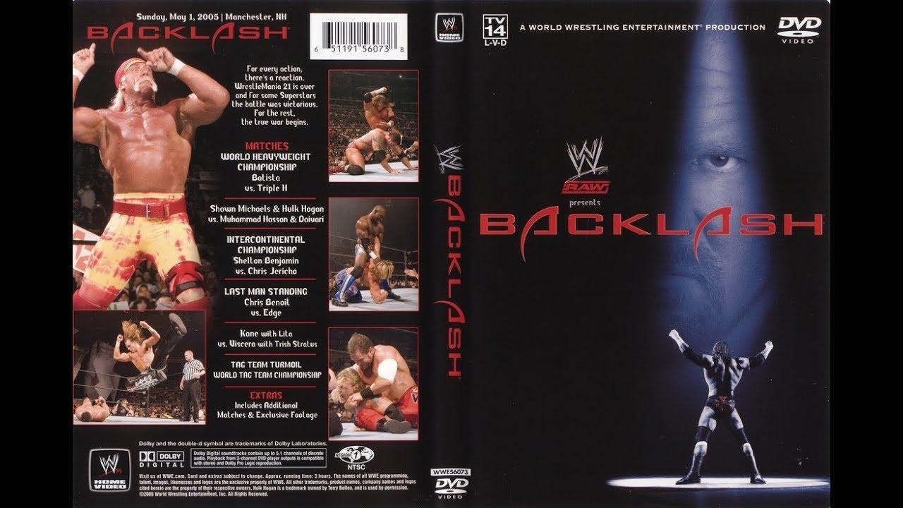 Tjr Retro Wwe Backlash 2005 Review Batista Vs Triple H