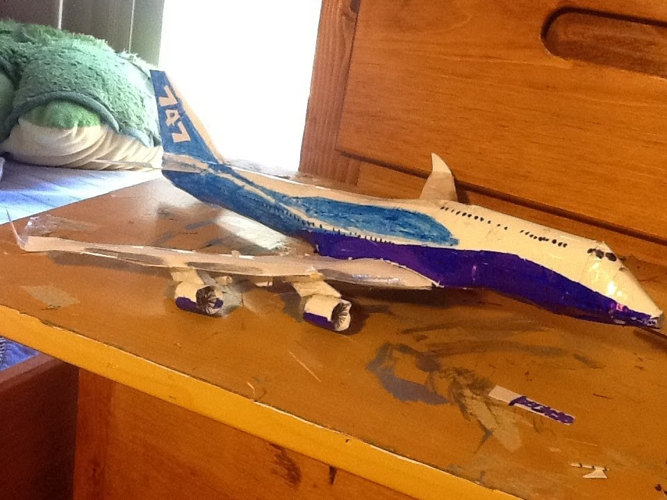 paper boeing 747 tutorial part 22 youtube